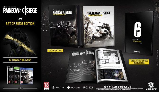 Rainbow Six Siege - Art of Siege Edition