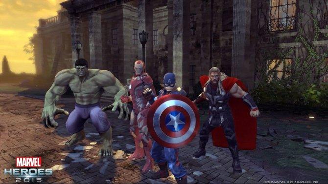 Скриншот игры Marvel Heroes 2015