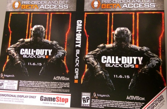 Первые детали Call of Duty: Black Ops III