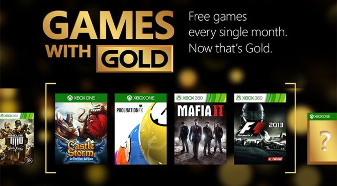 Подборка майских игр Games with Gold