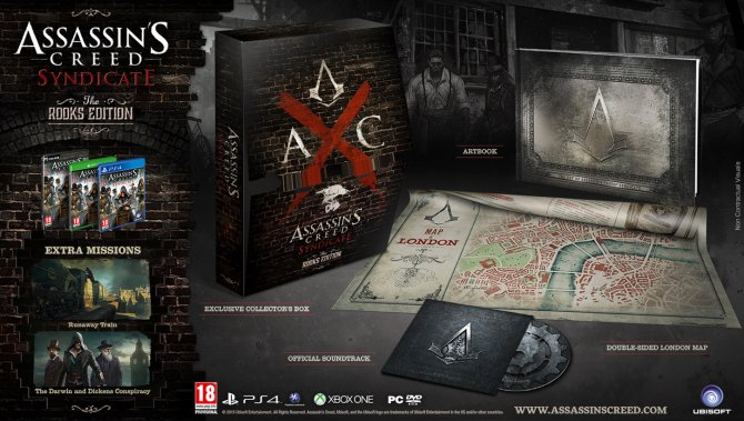 Издание «Грачи» Assassin's Creed Синдикат