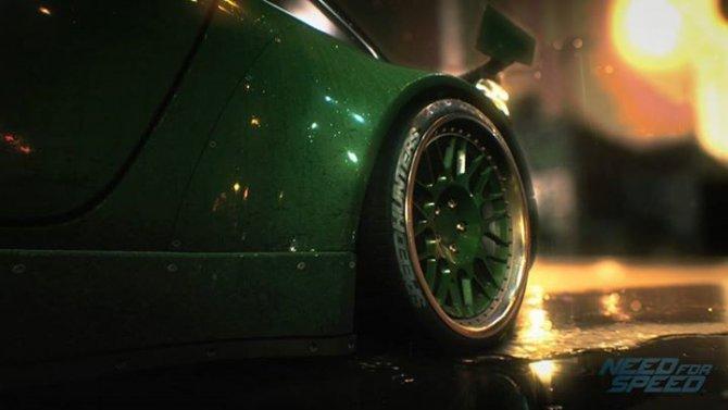 Тизер-изображение новой Need for Speed