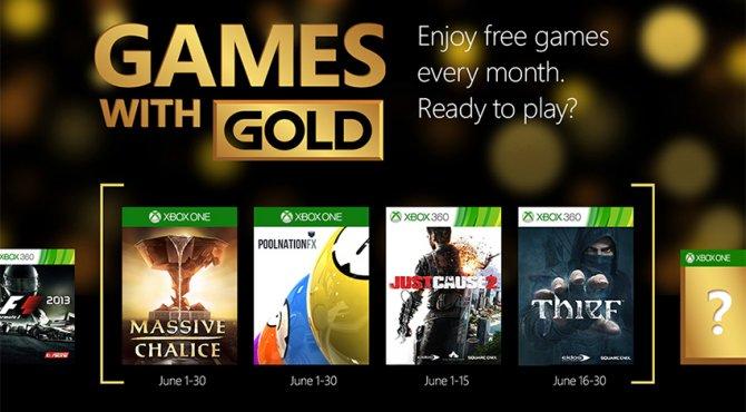 Подборка июньских игр Games with Gold