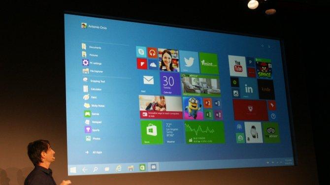 Windows 10 начнет свою работу с июля