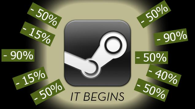 Стартовала летняя распродажа Steam