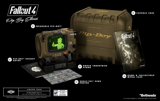 Коллекционное издание Fallout 4 с личным Пип-боем