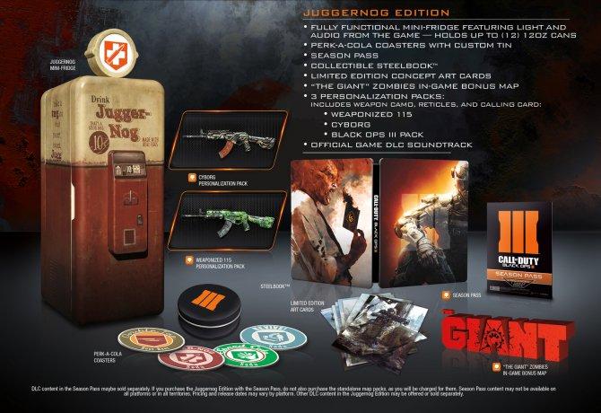 Коллекционное издание Call of Duty: Black Ops III