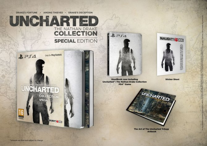 Uncharted: The Nathan Drake Collection Special Edition