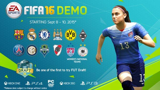 Детали демоверсии FIFA 16