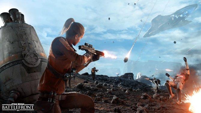 Разработчики Star Wars Battlefront рассказали о режиме «Зона выброски»