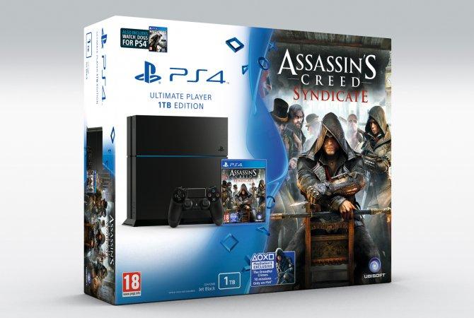 Анонсирован бандл PS4 с Assassin's Creed: Syndicate
