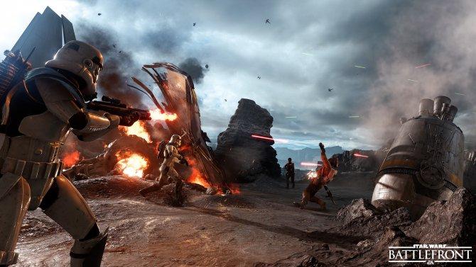Бета-тестирование Star Wars Battlefront начнется 8 октября