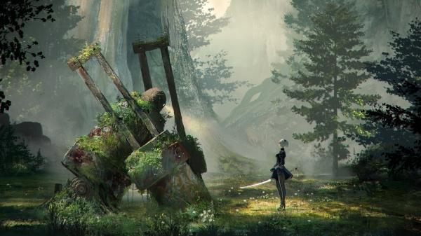 Новый проект от Platinum Games будет называться Nier Automata