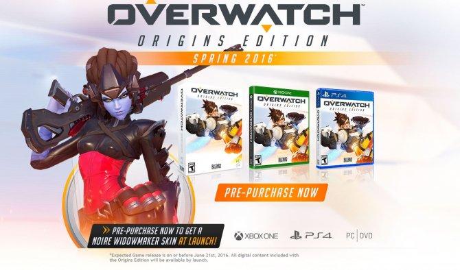 Overwatch выйдет на консолях.