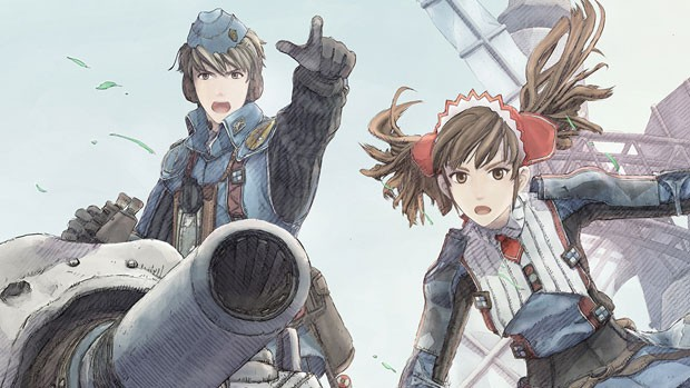 Иллюстрация к Valkyria Chronicles