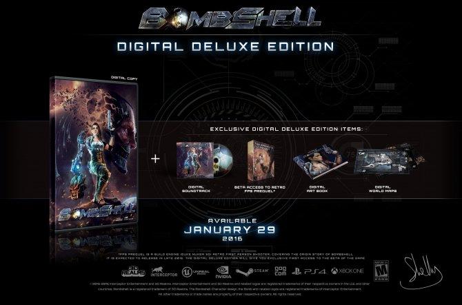 Дата релиза и анонс цифрового издания Bombshell