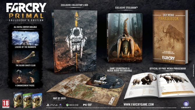 Far Cry Primal: Collector's Edition