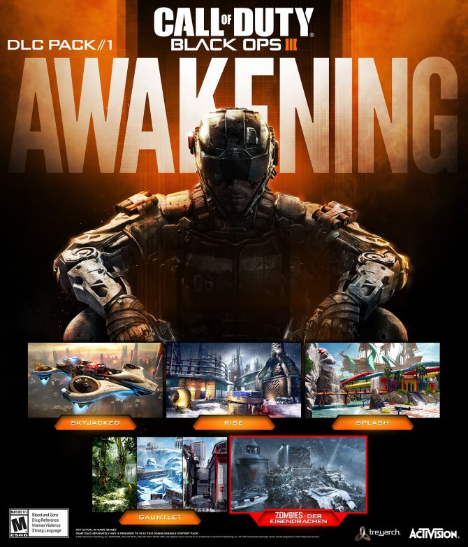 Awakening – первый DLC для Call of Duty: Black Ops III