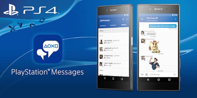 PlayStation Messages – общайся с друзьями PSN на мобильном
