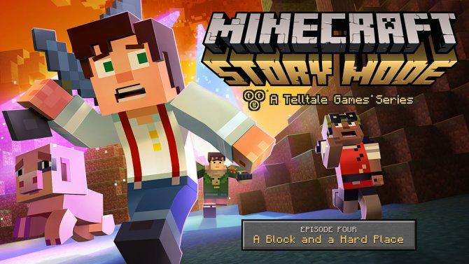 Четвертый эпизод Minecraft: Story Mode совсем скоро