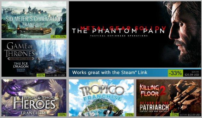 Дан старт зимней распродаже в Steam