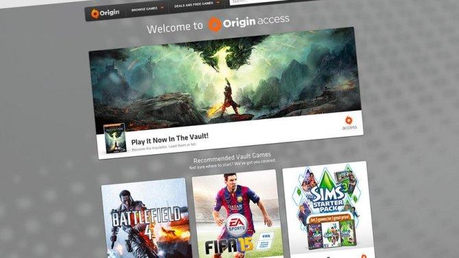EA Access теперь и для ПК – Origin Access