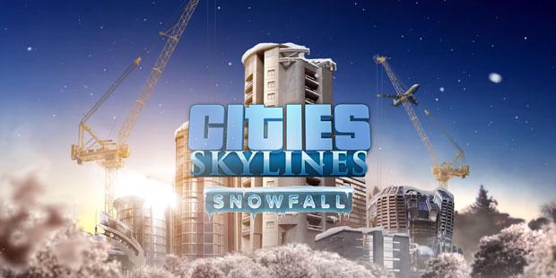 Снегопад начнется в Cities: Skylines 18 февраля