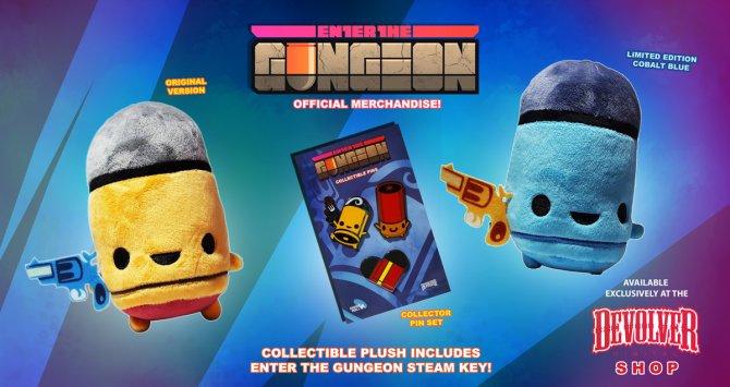 Разработчики Enter the Gungeon предлагают купить плюшевую пулю