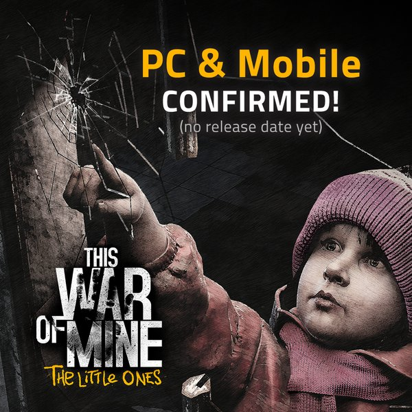 This War of Mine: The Little Ones выйдет на ПК