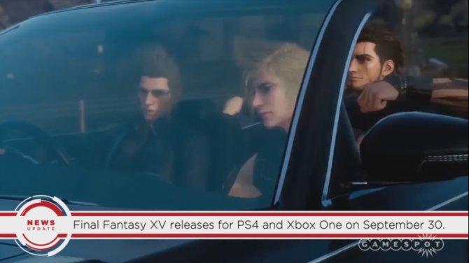 Final Fantasy XV выйдет 30 сентября, если верить GameSpot