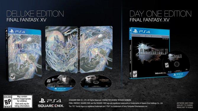 Final Fantasy XV Delux Edition