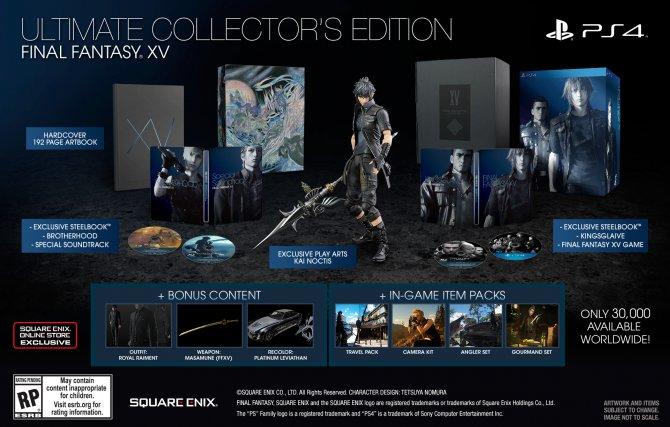 Final Fantasy XV Collector's Edition