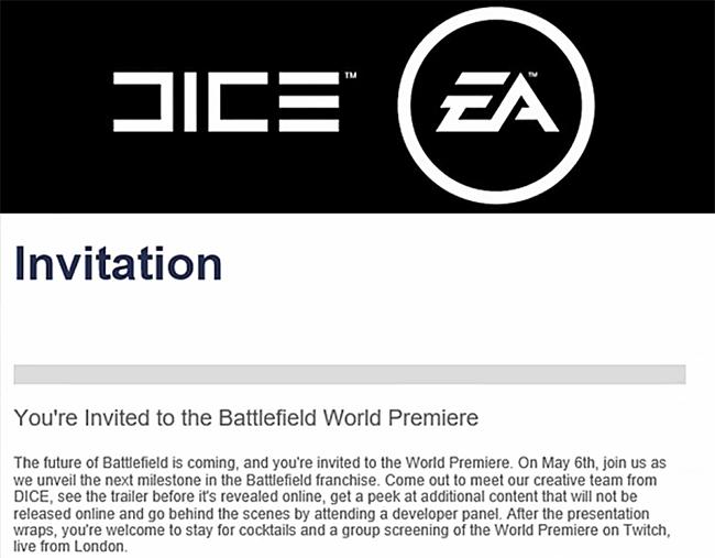 Battlefield 5 анонсируют 6 мая