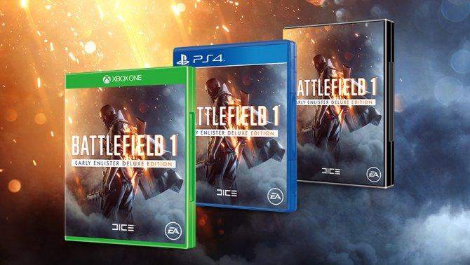 Предзаказ Battlefield 1 уже открыт