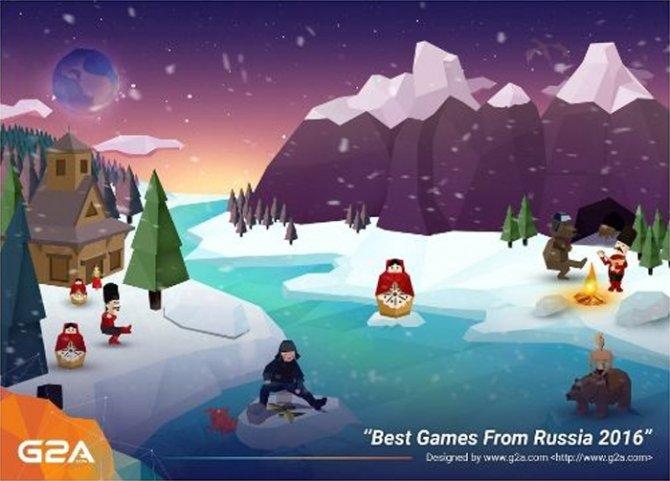 G2A запустила «Лучшие игры из России»
