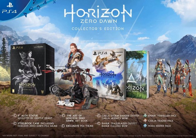 Коллекционное издание Horizon Zero Dawn