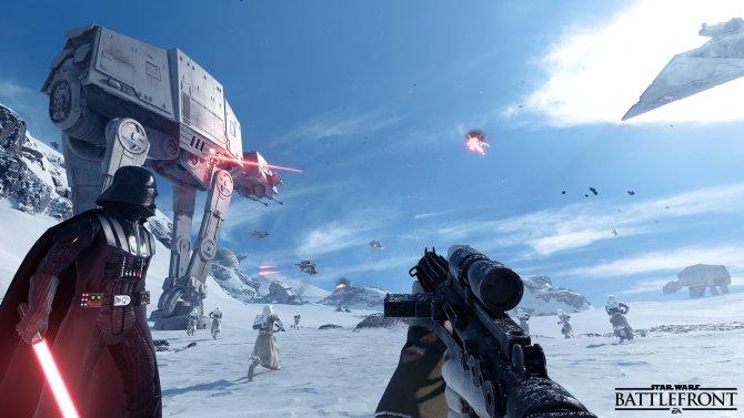 Star Wars Battlefront идет в оффлайн