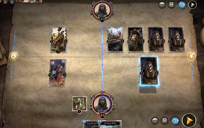 Началось открытое бета-тестирование The Elder Scrolls: Legends