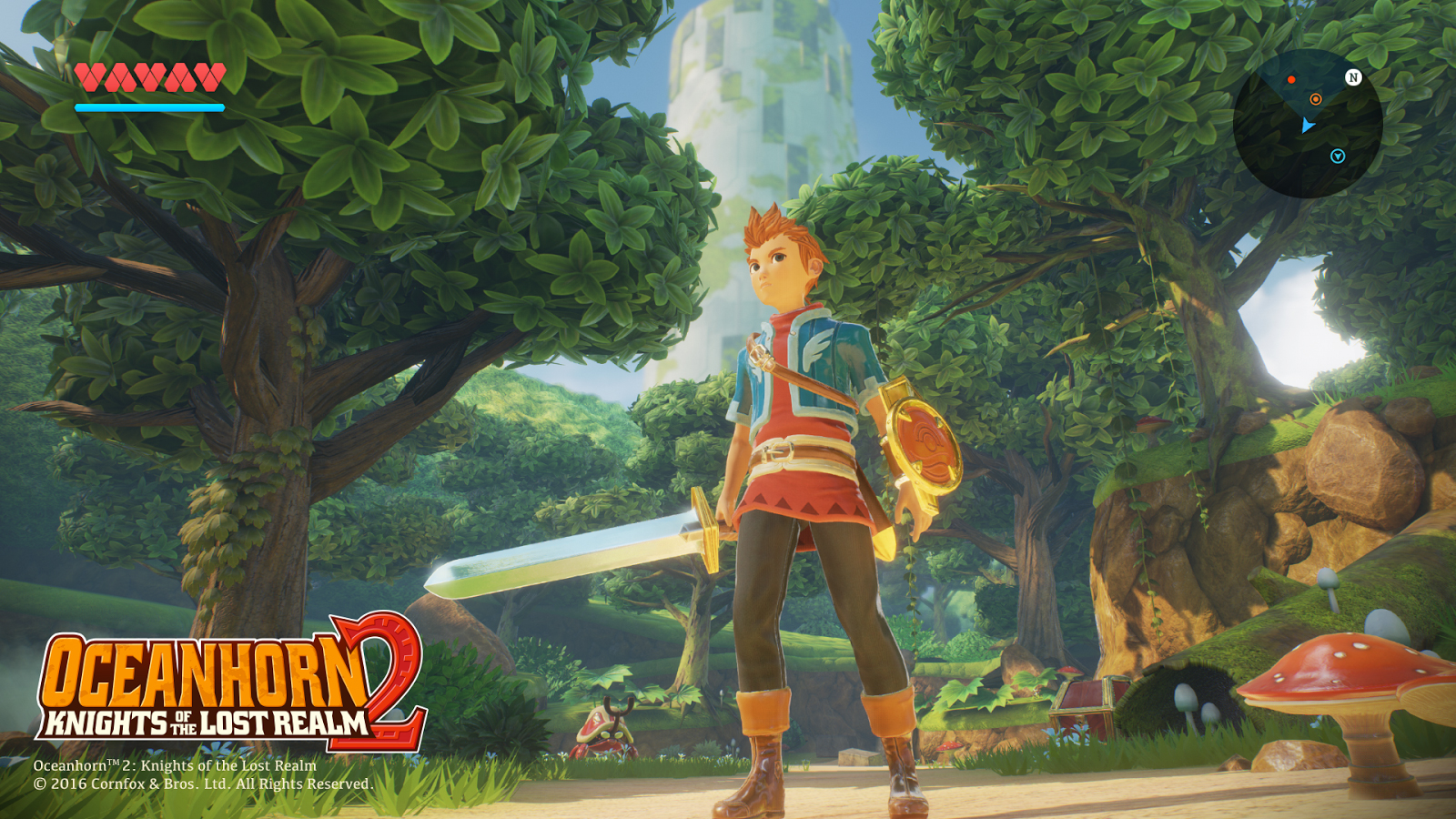 Анонсирована Oceanhorn 2: Knights of the Lost Realm