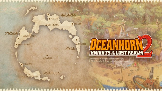 Мир Oceanhorn 2: Knights of the Lost Realm
