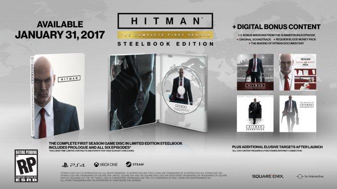 Hitman: The Complete First Season выйдет 31 января 2017 года