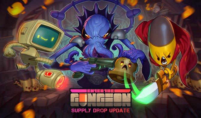 Анонсировано обновление Supply Drop для Enter the Gungeon