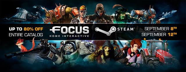 Спешите! В Steam скидки на игры от Focus Home Interactive