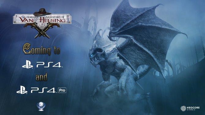 The Incredible Adventures of Van Helsing выйдет на PS4