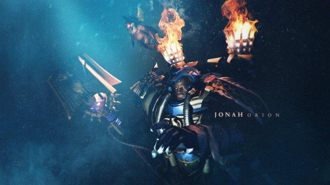 Элитный герой Иона Орион в Dawn of War III