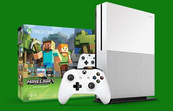 Xbox One S начнут продавать в России в октябре
