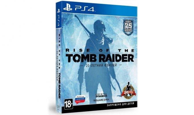 Дисковые издания Rise of the Tomb Raider: 20-летний юбилей для России задержатся