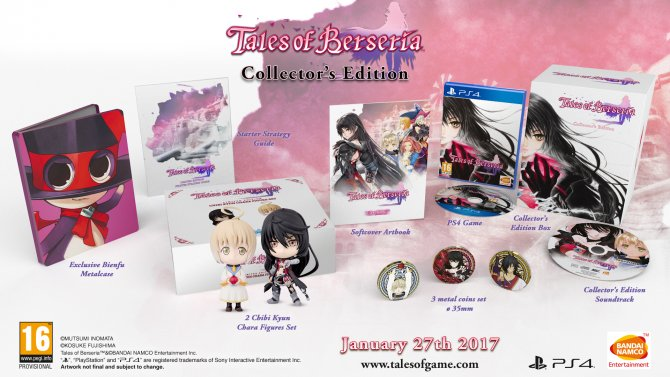 Tales of Berseria Collector's Edition