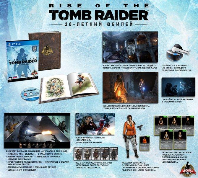 Rise of the Tomb Raider: 20-летний юбилей
