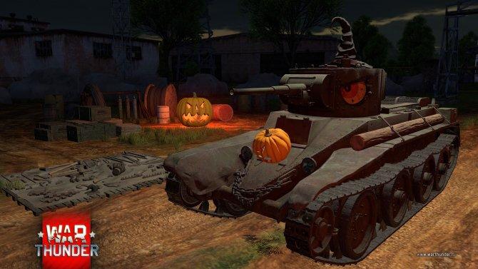 War Thunder отмечает четвертый День рождения и Хэллоуин